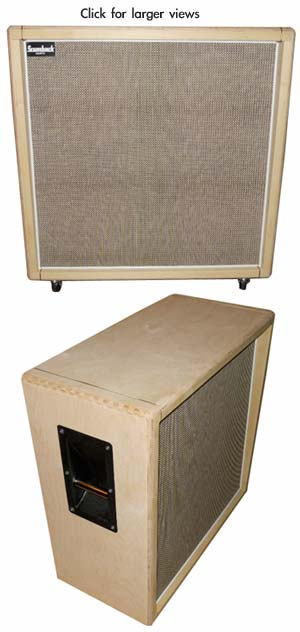 4x12 69 Spec Dave Friedman Naked Straight Extension Cabinet