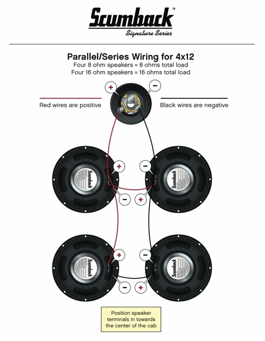 4x12 par series wiring_4 rig talk \u2022 view topic friedman 4x12 wiring still parallel series? Wiring 8 -Ohm Speakers at bayanpartner.co
