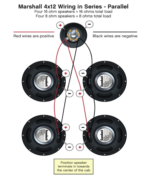 4x12 series par wiring_4 scumback speakers how to wire your speakers 4 speaker wiring diagram at reclaimingppi.co